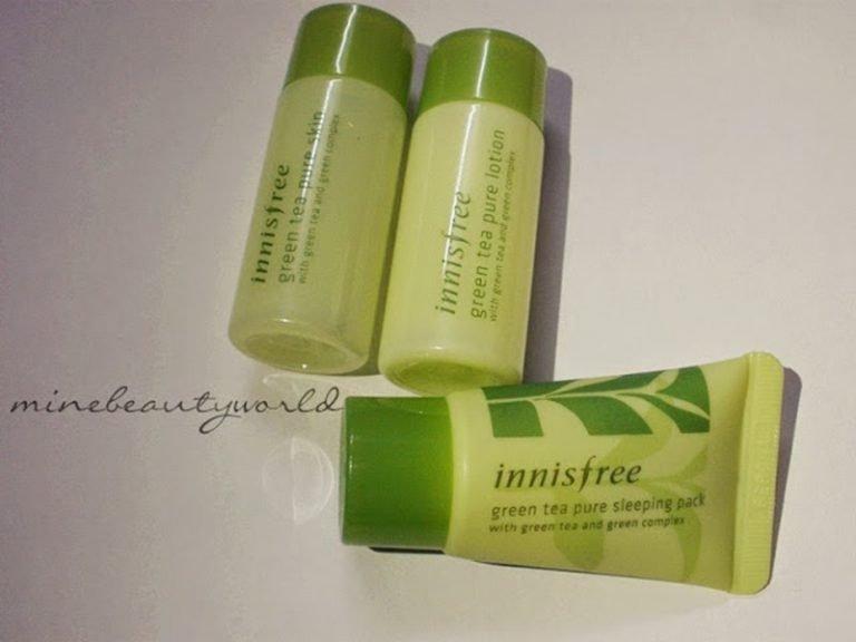 [Review] Innisfree Green Tea Pure Sleeping Pack